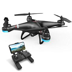 Our pick of 10 higher end drones equipped with HD camera. The brands include Holy Stone, AEE and Dobby. The features include GPS, Wifi and more. Drone App, Fpv Drone, Drone With Hd Camera, Video Camera, Drones, Selfies, Led Navigation Lights, Camera Selfie, Best Baby Toys