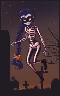 AT- Halloween Marceline by Laur-.deviantart.com on @deviantART