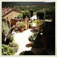 Borgo Santo Pietro, boutique hotel in Chiusdino, Tuscany, Italy http://www.borgosantopietro.com/