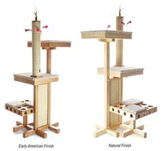 Eco-friendly Cat Tower with More Activities Than Disneyland | moderncat :: cat products, cat toys, cat furniture, and more…all with modern style