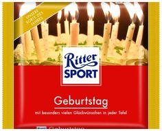 RITTER SPORT Fake Schokolade Geburtstag