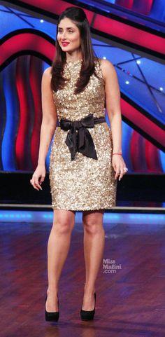 Spotted: Kareena Kapoor Shaking a Leg on 'Dance Ke Superkids' Western Dresses, Western Outfits, Indian Outfits, Indian Celebrities, Bollywood Celebrities, Bollywood Actress, Indian Bollywood, Bollywood Fashion, Pakistani