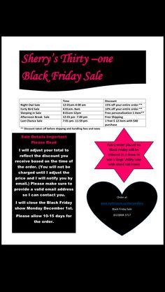 Black Friday Sale Thirty-One (Canada)