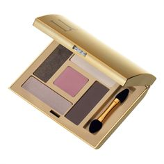 Luxe Cashmere Eyeshadow - This opulent eyeshadow range is infused with orchid extract for eyelids that feel silky soft, and ColorGlam Complex for colour that's pure and bright. Each compact comes in 5 expertly co-ordinated shades in both a matte and pearl finish.