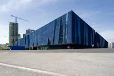 The Barcelona Forum 2004 building by Herzog & de Meuron