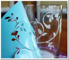 Etched Glass. Some drinking glasses would be great. With any design. Mugs would also be good. So would wine glasses