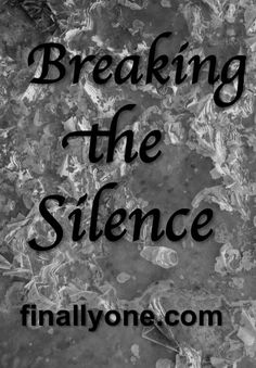 Breaking the Silence Panic Disorder, Disorders, Anxiety, Freedom, Blog, Liberty, Political Freedom, Blogging, Stress