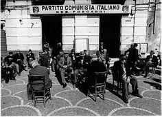 La casa del popolo in Piazza Indipendenza, Paternò (CT).