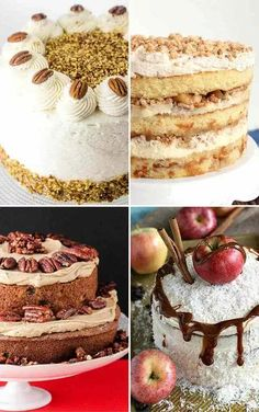 Whether its a fall birthday celebration or an intimate family gathering theres an apple cake to celebrate with! Here are 20 amazing apple cake recipes for the fall season. Drip Cake Recipes, Homemade Cake Recipes, Best Cake Recipes, Apple Recipes, Fall Recipes, Dessert Recipes, Apple Birthday, Fall Birthday, Old Fashioned Cake Recipe