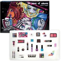 Mit dem tollen Monster High Kosmetik-Adventskalender erhalten Fans 24 Überraschungen für jeden Tag der Vorweihnachtszeit.    Dieser Kalender ist ein schönes Geschenk, um die Vorweihnachtszeit zu versüßen!    Bequem bestellen und liefern lassen:  www.mytoys.de/Monster-High-Adventskalender/KID/de-mt.mk.adventskalender.04/2482926