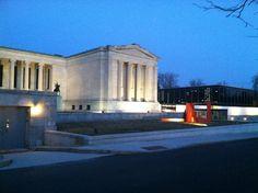 Albright-Knox Art Gallery in Buffalo, NY