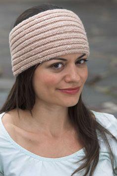 Headband free knitting pattern