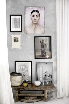 life as a moodboard: Norwegian home in tones of grey