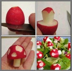 ►Garnish tips..