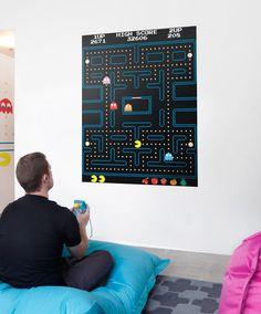 Blik Pac-Man Maze Wall Decals