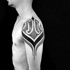 Distinctive Male Badass Tribal Tattoo Designs On Shoulder Cap verse tattoos for men for men forearm for men meaningful Filipino Tribal Tattoos, Tribal Tattoos For Women, Sleeve Tattoos For Women, Arm Tattoos For Guys, Tribal Tattoo Designs, Tattoo Designs For Women, Unique Tattoos, Cool Tattoos, Men Tattoos