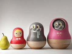 Mike He - Little Red Riding Hood Nesting Dolls