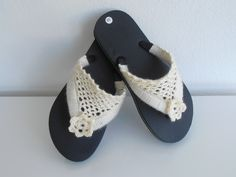 Flip Flops, Baby Shoes, Sandals, Kids, Clothes, Women, Fashion, Ganchillo, Children