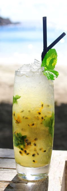 Can't choose between a beer and a cocktail? The Creole Mojito from @Four Seasons Resort Seychelles lets you have it both ways! Click through for this 100 Mile Cocktail recipe on #FSTaste.