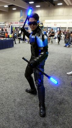 Nightwing cosplay at Comic-Con 2013