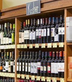 Kosher wine at Bottles in Providence