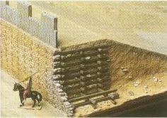 Cetlic Oppidum - Manching Wall section