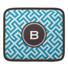 =>Sale on          Modern blue abstract geometric patterns monogram iPad sleeve           Modern blue abstract geometric patterns monogram iPad sleeve in each seller & make purchase online for cheap. Choose the best price and best promotion as you thing Secure Checkout you can trust Buy bestTh...Cleck Hot Deals >>> http://www.zazzle.com/modern_blue_abstract_geometric_patterns_monogram_ipad_sleeve-205807766898863917?rf=238627982471231924&zbar=1&tc=terrest