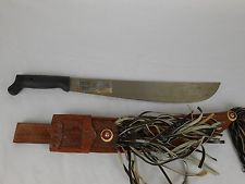 Corneta Machete Panama Leather Sheath No. 127 Vintage