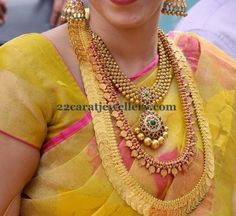 Jewellery Designs: Bride in Evergreen Traditional Jewelry