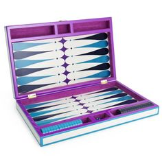 Lacquer Backgammon Set by Jonathan Adler, $295. jonathanadler.com