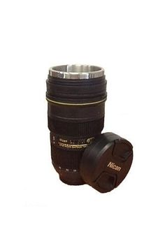 Become the envy of the town with the new camera lens cup! Great as a pen holder, planter, and cold drinking cup. Premium aluminum lining for any drink! Product Dimensions: 3 x Photographer Gifts, Gifts For Photographers, Christmas Backdrops, Pen Holders, Camera Lens, Photo Props, Binoculars, Drinking, Photo Gifts