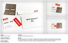 Baltic Coaching Centre: Business card | Designer: Paparaci