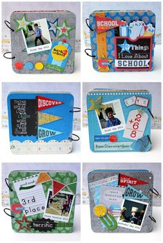 PaperVine: Back to School Mini & Gift Box Tutorial