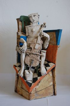 Cello Player by Christy Keeney