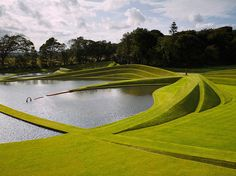 10 Questions With… Charles Jencks | Cells of Life at the Garden of Cosmic Speculation, Bonnington House, Edinburgh. #design #interiordesign #interiordesignmagazine #projects #landscapes