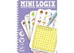 denkspel Mini Logix 'Engelse woordenzoeker'