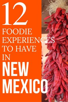 Planning to head to New Mexico for a road trip or as your next travel destination. Then you have got to to have these food experiences when you are there. #NewMexicoTRUE