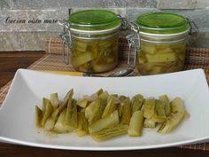 Zucchine in agrodolce Cucina vista mare