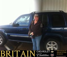 #HappyAnniversary to Jana Lea Rigsby on your 2005 #Jeep #Liberty from Scott Monroe at Britain Chevrolet Cadillac!