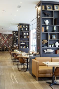 The Royal Quarter Cafe (London), Surface Interiors | Restaurant & Bar Design Awards