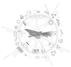 Thesis diagram -Anita W. Concept Models Architecture, Architecture Program, Architecture Graphics, Architecture Visualization, Data Visualization, Architecture Details, Landscape And Urbanism, Project Presentation, Concept Diagram