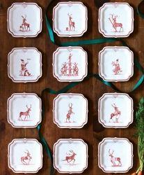 Juliska Country Estate Ruby - Reindeer Games