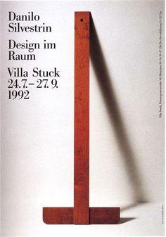 Design im Raum, poster, 1992. Pierre Mendell