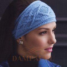 повязка на голову с косами