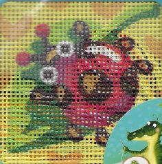 Collection D'Art Ladybug x cm x 15 cm Needlepoint Kits, Ladybug, Embroidery, Country, Collection, Art, Art Background, Needlepoint, Rural Area