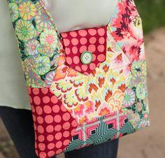 Betz White Hexie Hipster Bag Pattern Kit Retro -