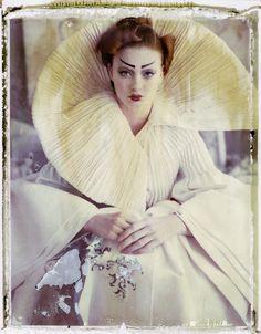 Photo credit: Courtesy of Cathleen Naundorf Bernheimer Fine Art; 'La fille en plâtre IV (version 1), Dior by John Galliano