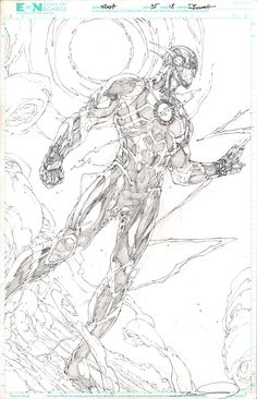 Flash Vol.4 #35 p.18 (unused) by Brett Booth *