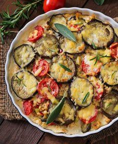 Eggplant Casserole Recipe, Casserole Recipes, Best Greek Food, Greece Food, Vegetable Casserole, Greek Dishes, Mediterranean Diet Recipes, Eggplant Recipes, Comfort Food