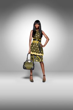 Vlisco's 2011 'Dazzling Graphics' collection